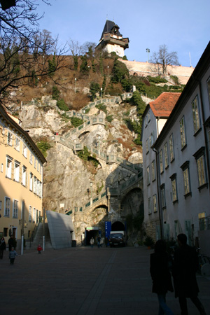 Schlossberg, Graz